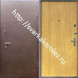 стальные двери ценой от 7000